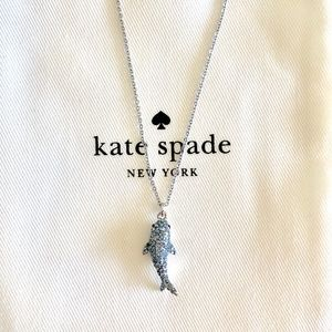 Last one! Kate Spade Shark Necklace